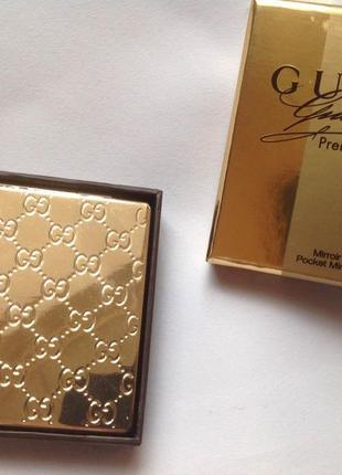 Косметическое зеркальце карманное gucci