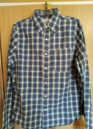 Рубашка/сорочка в клетку abercrombie & fitch