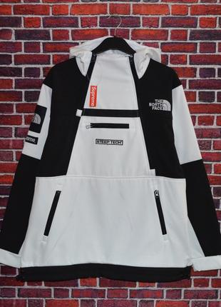 Кофта Supreme x The North Face SteepTech White