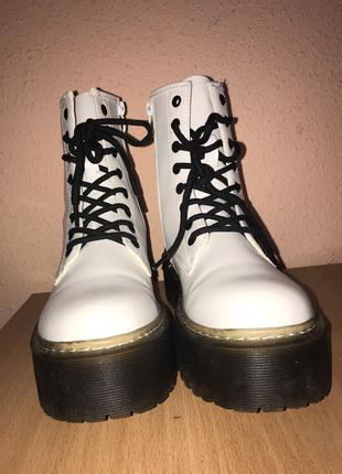 Осенние, весенние ботинки (Мартинсы)