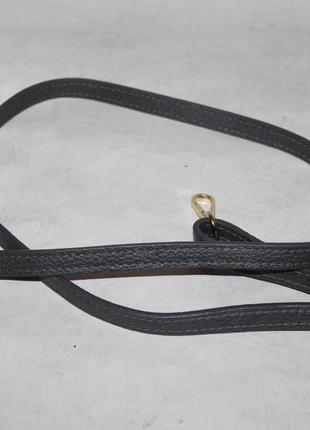 Кожаный плечевой ремень на сумку/портфель.длинная ручка на сумку