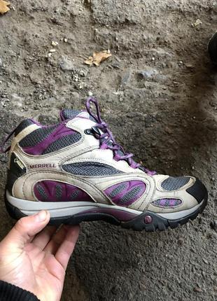 Ботинки merrell gore-tex