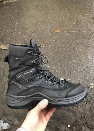 Зимние ботинки lowa gore-tex , на меху
