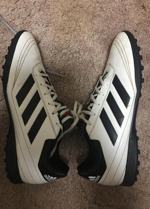 Футзалки сороконожки адидас adidas goletto   р.46 стелька 30.5см