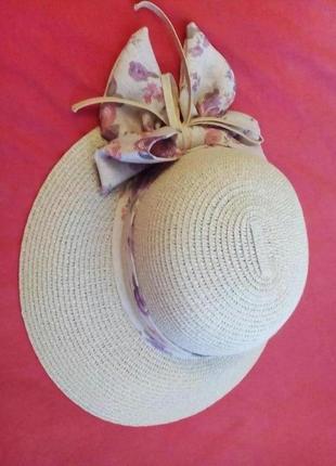 Cоломеная шляпка