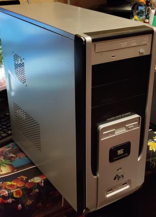 Компьютер, Abit IP35-E, E6550, 8800 GTS, 320Gb, 370W, 4Gb DDR2