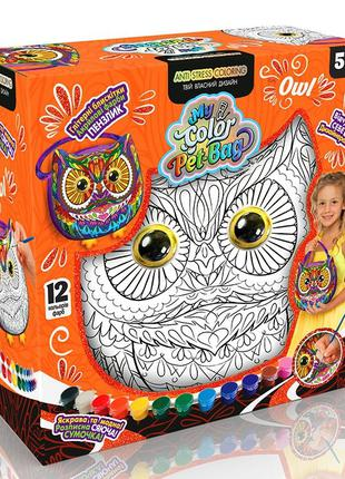 Сумка раскраска, my color pet-bag Danko Toys набор для творчества