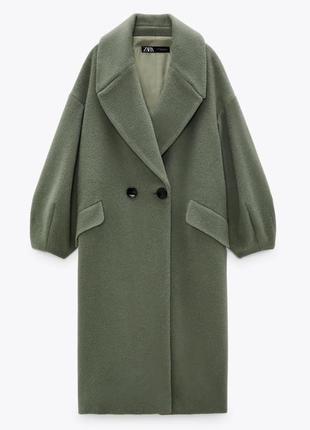 Шерстяное пальто  zara limited edition