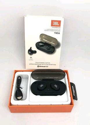 Наушники Bluetooth TWS-4 JBL