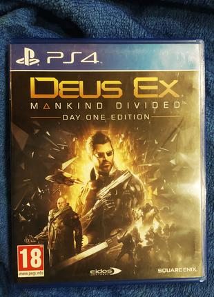 Deus EX:Mankind Divided. Day one edition  PS4