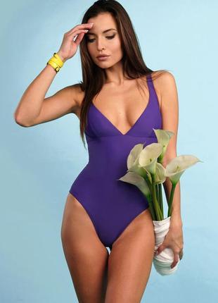 Стильный женский купальник  ткань плотная, не просвечивает.