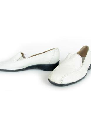 Кожаные туфли лоферы - германия.