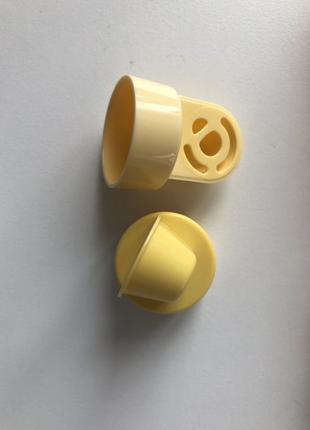 Medela запчасти для молокоотсоса (клапан, коннектор, раструб)