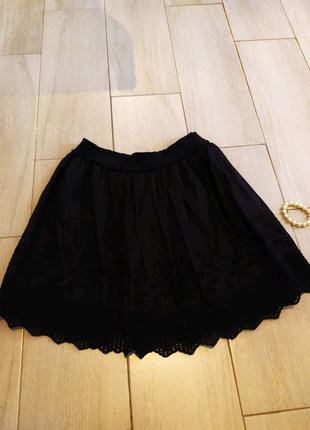 Naf Naf шёлковая, стильная,брэндовая юбка