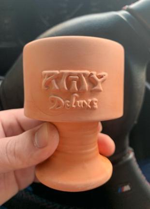 Глиняная чаша для кальяна AMY Deluxe новая