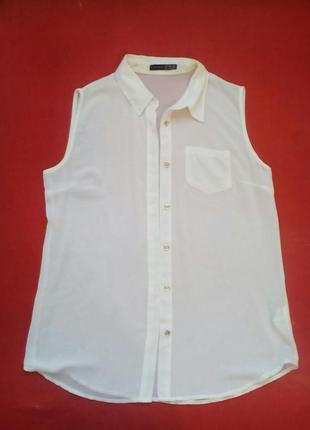 Белая блузка классика