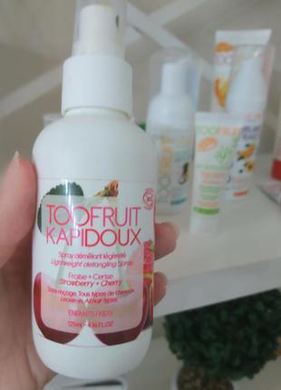 Органический кондиционер для распутывания волос toofruit kapid...