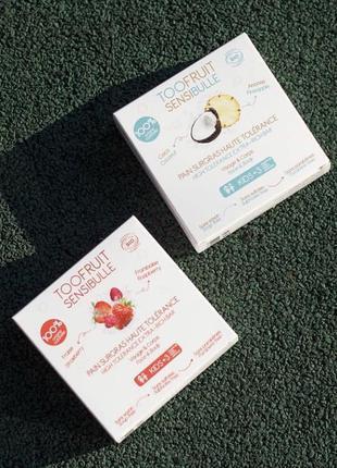 Органическое мыло для чувствительной кожи toofruit