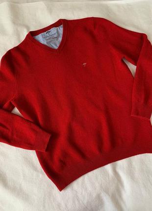 Fynch-hatton мужской свитер шерсть кашемир