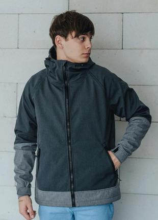 Куртка staff soft shell nort gray