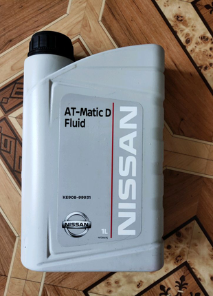 Масло трансмиссионное АКПП Nissan ATF MaticFluid D,1л KE90899931