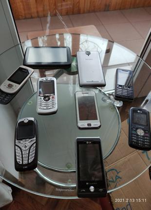 Продаю мобильные телефоны и gps навигатор по символическим ценам