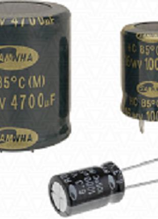 Конденсатор Samwha Серия RD 1 MkF-450 V 105C 6.3 Х 11 Цена 0.86