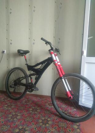 Продам  велосипед двухподвес