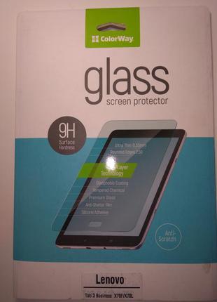 Закаленное стекло lenovo tab 3 busines x70f/x70l,новое