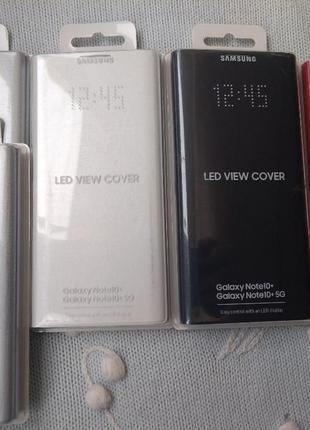 Чехол для смартфона samsung led view cover black for note 10 (...