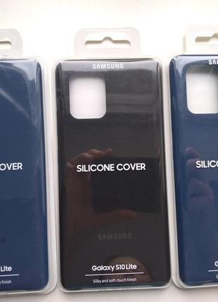 Чехол для смартфона samsung silicone cover samsung s10 lite
