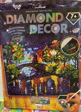Набор для творчества «diamond decor: рандеву