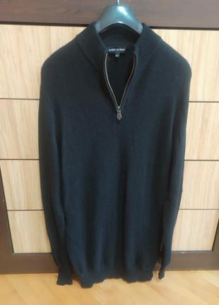 Мягкий кашемировый свитер джемпер от estheme cachemire,p. xl