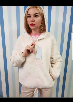 Куртка альпака,  норма, хит продаж