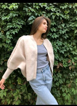 Бомбер, куртка  альпака,  качество  люкс