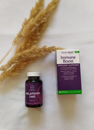 Immune boost, natrol, 30 капсул