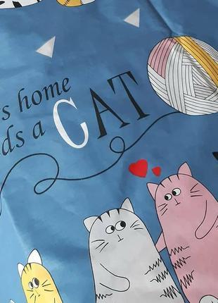 """Комплект постельного белья """"коты"""""""