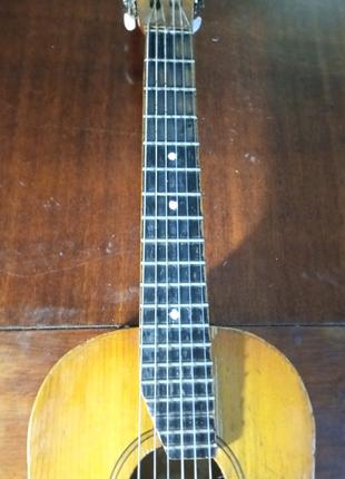Мини гитара размером ½