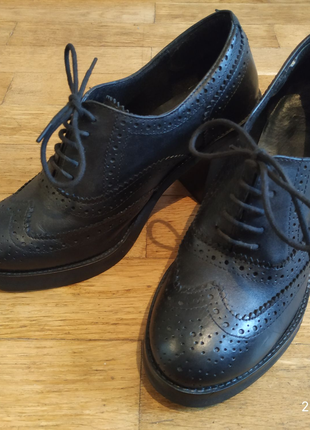 Кожаные ботиночки 38р