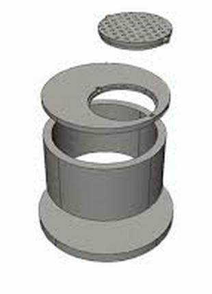 Кольца для воды и канализации, забор бетонный