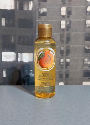 Масло для тела the body shop mango 100ml (полный)