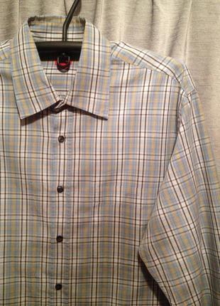 Оригинальная рубашка в клетку бренд espit.350