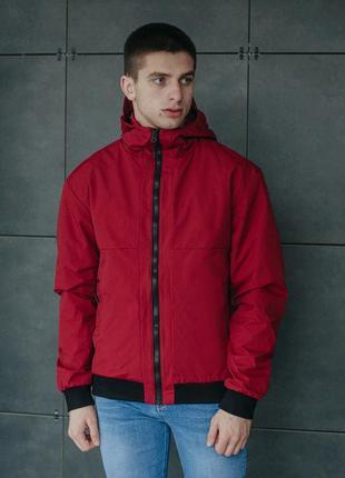 Куртка staff wesper bordo