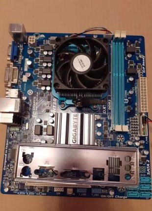 Продам Комплект Мать Оперативка Процессор Am3+ 12gb Память