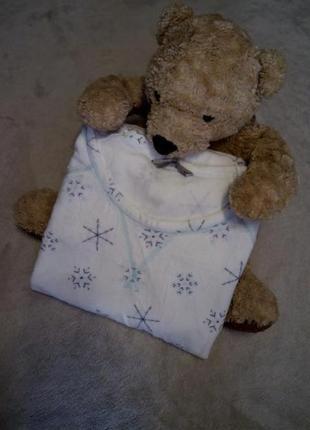 Пижама  для дома и сна мягкая,тёплая,уютная размер 12-14 tu