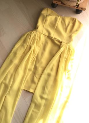 Шикарное платье на выпускной или новый год , xs - s, со шлейфа...