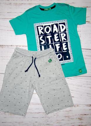 Комплект шорти, футболка