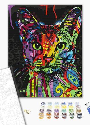 Картина по номерам Абиссинская кошка