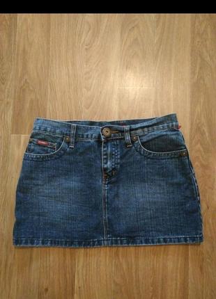 Джинсовая юбка 44-46 размер