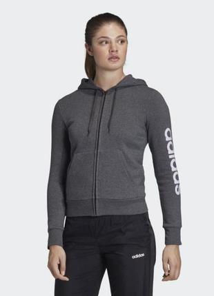 Женская толстовка adidas essentials linear fm6491